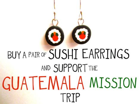 Sushi In Support Of Guatemala by FlamingChickCreation