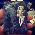 Artist's Trading Card - Maxwell  by letterw