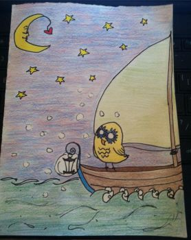 Sailing to the Moon by august-knell