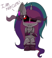 .: Oc :. I AM NOT CUTE ! by Mlp-Magical-Melody