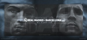 REAL MADRID - BARCELLONA by AleSFA