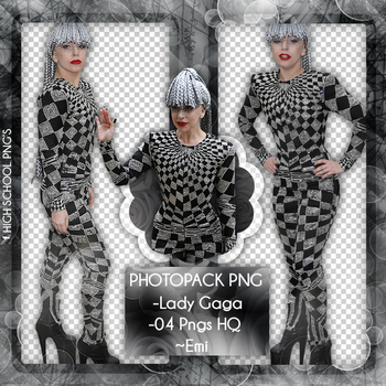Photopack Png Lady Gaga 04 by Emifloow