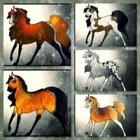 Adoptable mares (5 points for one) by Adoptable-Horses-INC
