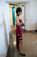 Ada Wong Cosplay !! by CosmicNya