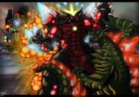 Kaiju Wars: Return of the First Horseman by Blabyloo229
