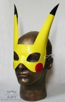Pikachu Mask by nondecaf