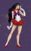 Sailor Mars by Bayra