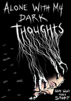 Dark Thought 4 by dwaynebiddixart