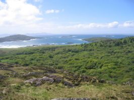 View from the Ring of Kerry by wkdown