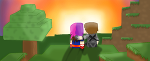 Happy Valentine's Day Sky and Dawn :D by Gameaddict1234