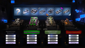 Caution : Falling tanks - tank selection menu (pre by nicolarre