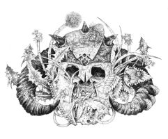 Norse Skull by urielstempest