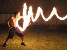 Fire Bending Real life by Lycantheran