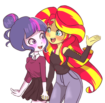 Twilight x Sunset by Chibicmps
