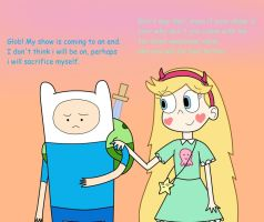 My Hope is Ending Soon (Finn 'n Star) by 04StartyCornOnline88
