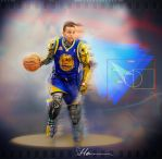 Shooting Machine Steph Curry by heiesuke