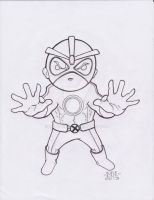 Lil Dude Havok by MARR-PHEOS