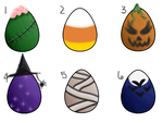 Mystery Halloween Eggs -OPEN- by horserider10