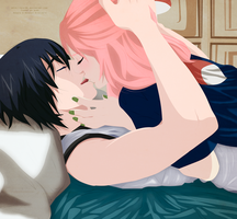 Fanart SasuSaku You are the only exception by kisi86