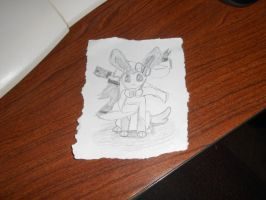 moar Sylveon by Colliequest