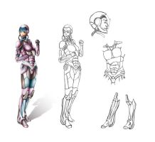AE - Survival Armored Suit by huina
