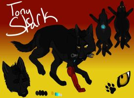Canine Avengers .:Tony:. by Wolfchick36