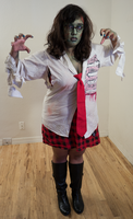 Zombie School Girl 20 by Angelic-Obscura