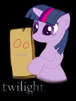Twilight movie poster by manly-unicorn