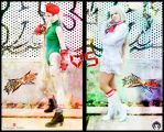 StreetFighterXTekken- Lili VS Cammy by JonathanDuran