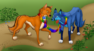 Where did all the Roses go? by WolfKodi