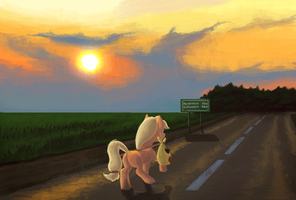 Road to the dream by Sa1ntMax
