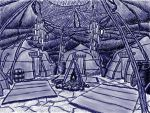 Ashlander Camp by croicroga