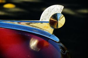 1949 Ford Hood Ornament by wbmj-photo