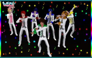STARISH MAJI LOVE 2000% Concert by NGSims3 by ng9