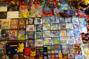 Pokemon Games Collection (June 2016) by Spufflez