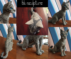Blu Sculpture by autumnicity