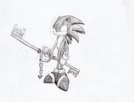 Key Blade Sonic by sonicbommer