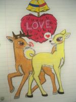 Rudolph and Clarice by Shelby100