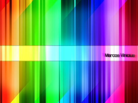 abstract colorful rainbow 2 by marcoswebdesign