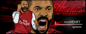 Thierry Henry by IGOORMAXIMO