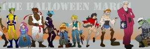 Halloween March Complete by m-t-copyright