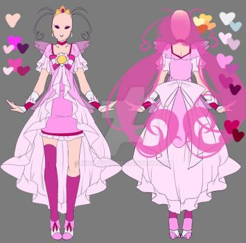 Cure Happy - Grown-up Design by rika-dono