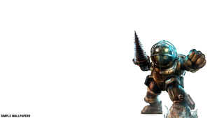 Bioshock Big Daddy Wallpaper by SimpleWallpapers