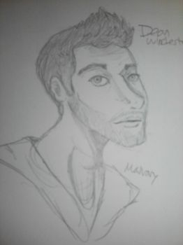 Dean Winchester Doodle by Maivory