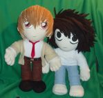 Death Note plushies by magickitty1972
