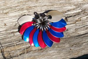 Red, White and Blue by MiscellaneousMaille