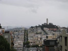 Coit Tower SF by Camel51