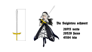 MMD Suigintou sword download by RaiR-211