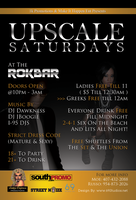 Upscale Saturday Flyer by DrCrunk