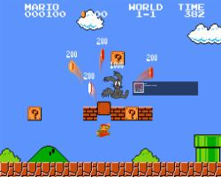Super Mario Logon by Jackster3000
